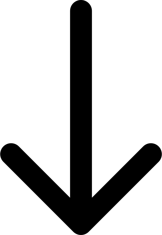 Arrow Pointing Down Png.