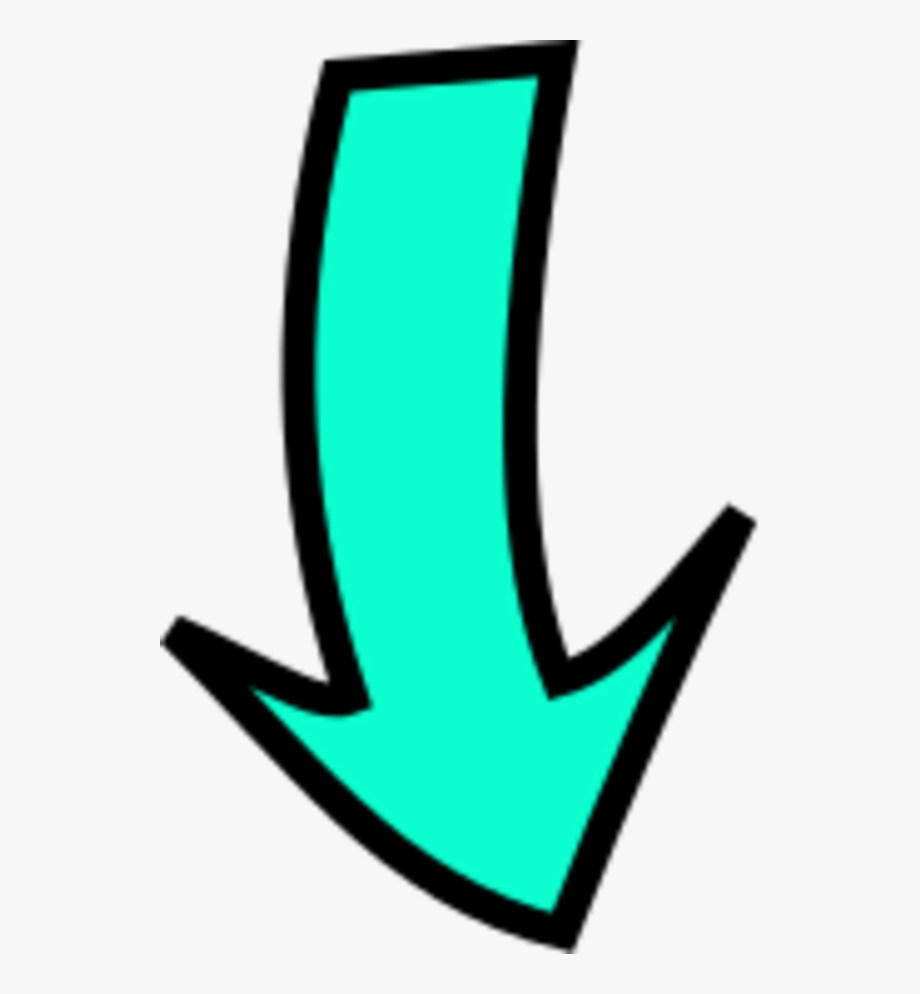 Arrow Pointing Down.