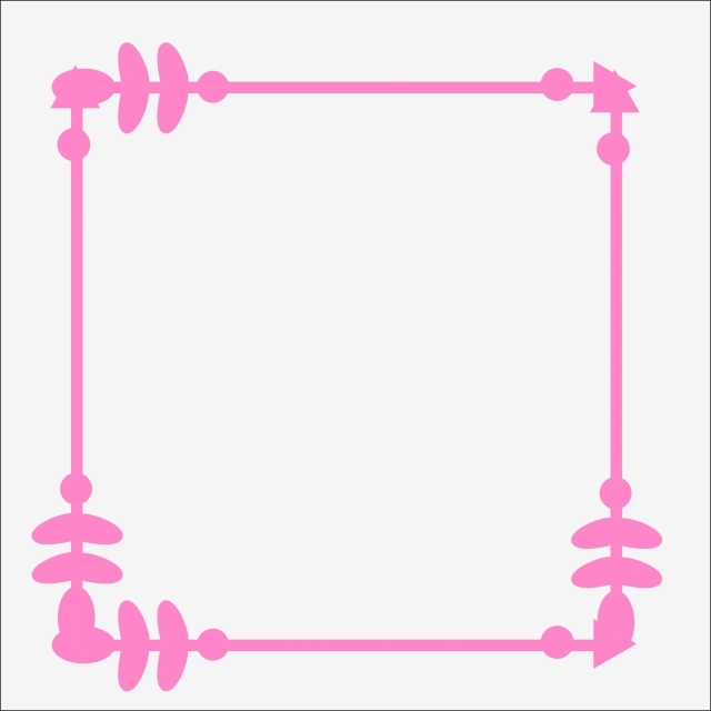 Pink Arrow Style Pink Border Valentines Day, Festival, Pink.