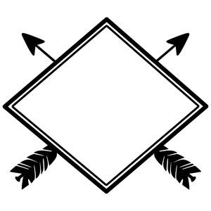 Arrow Frame Clipart.