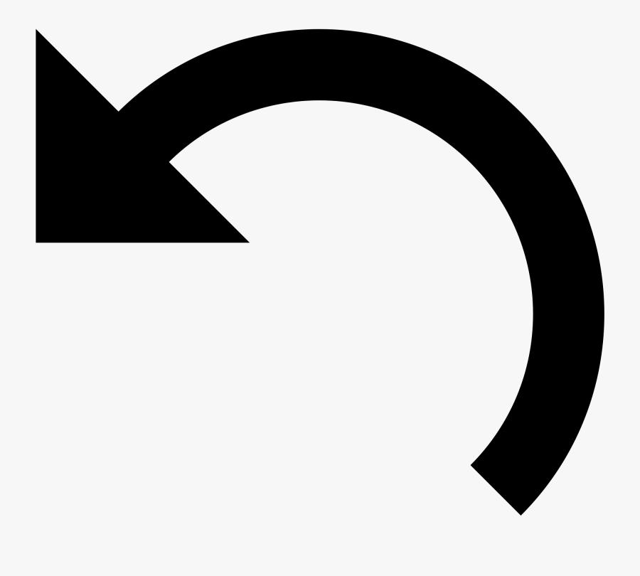 Half Circle Arrow Icon Clipart , Png Download.
