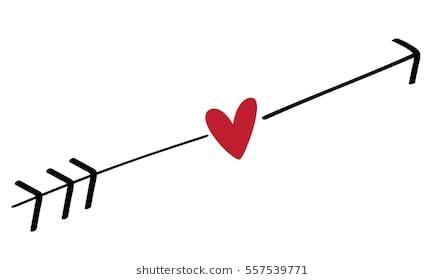 Arrow heart clipart 9 » Clipart Station.