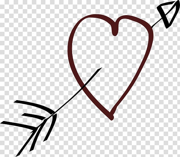 Heart Arrow , Car Heart transparent background PNG clipart.