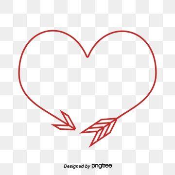 Arrow Hearts, A Circle, Arrow, Heart Brush PNG and Vector.