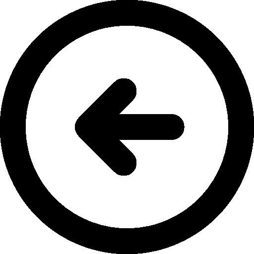 Free Download Left arrow Icon Webfont.