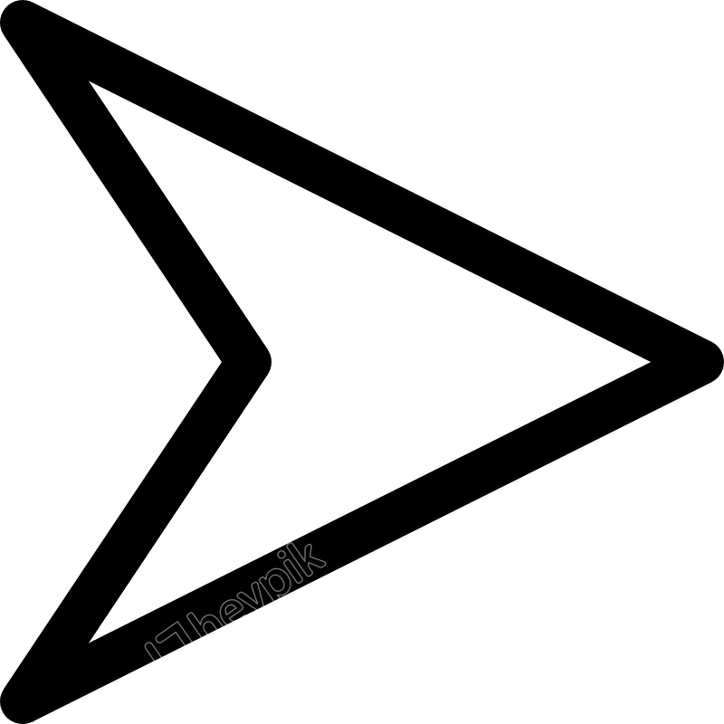 Plain Right White Arrow Clip Art At Clipart Library.