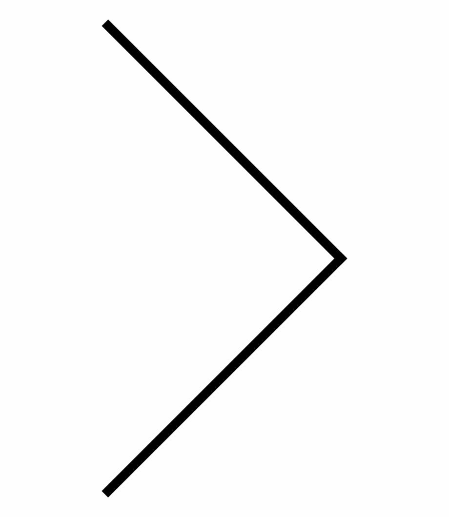 Skinny Arrow Png.