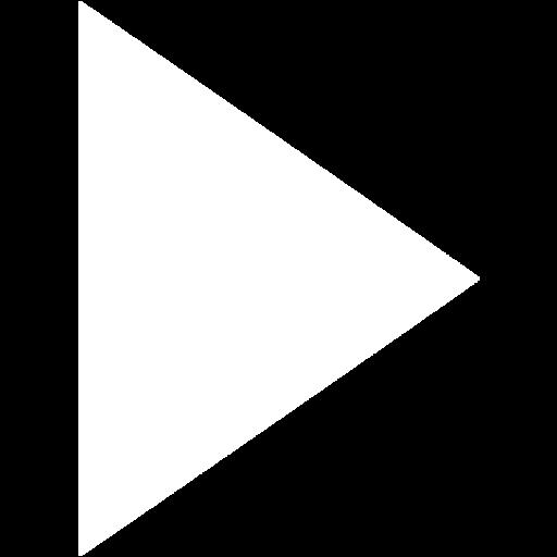White arrow 37 icon.