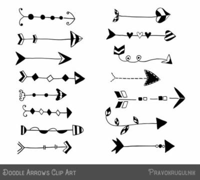 doodle arrow clip art , Free clipart download.