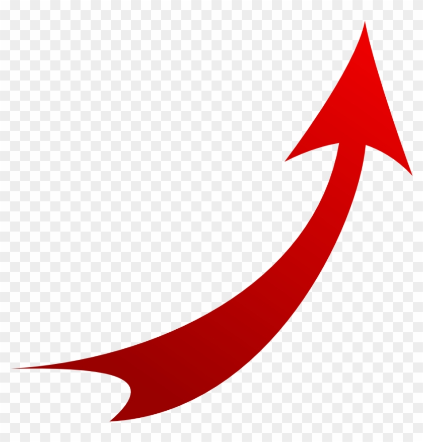 Images For > Red Curved Arrow Png.