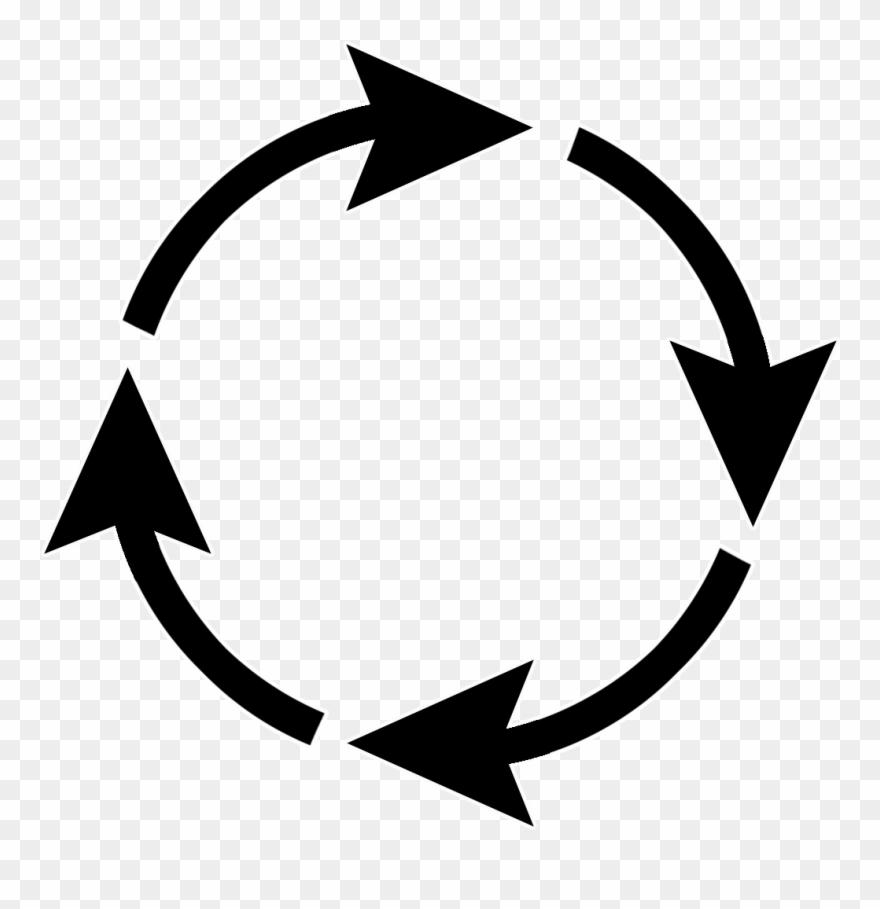 Arrow Sign Circle.