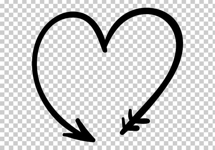 Heart Shape PNG, Clipart, Arrow, Black And White, Circle.