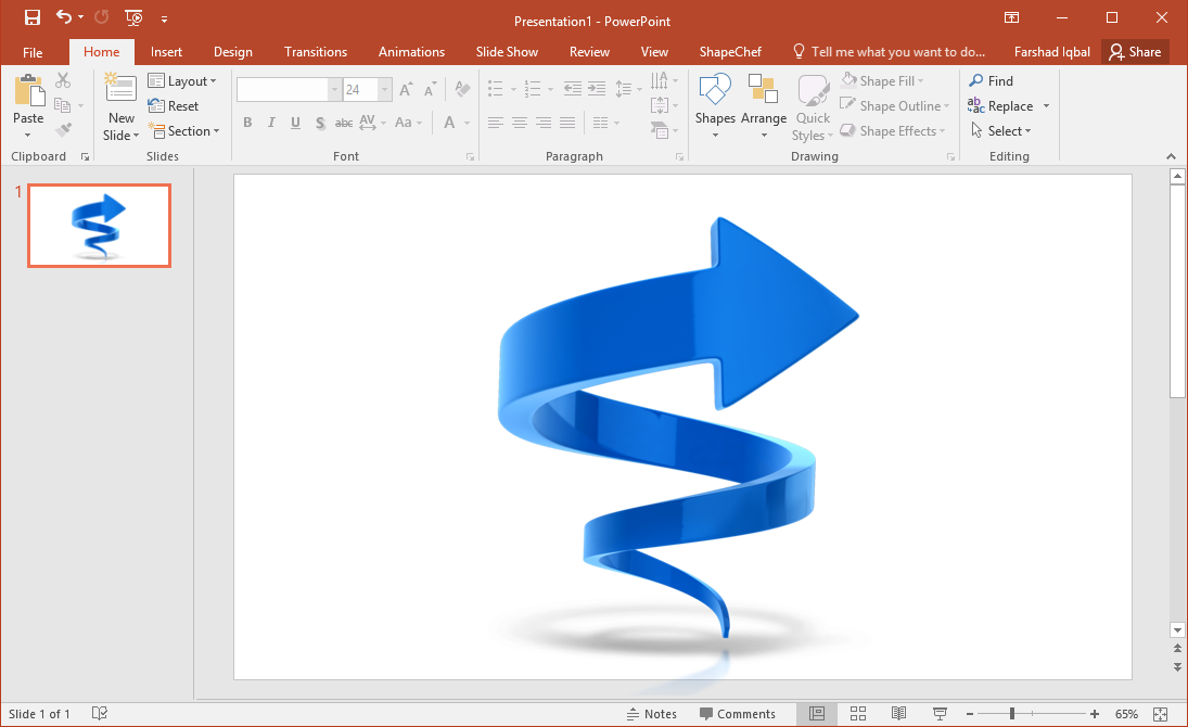 Best PowerPoint Templates & Slides with Twisted Arrows.