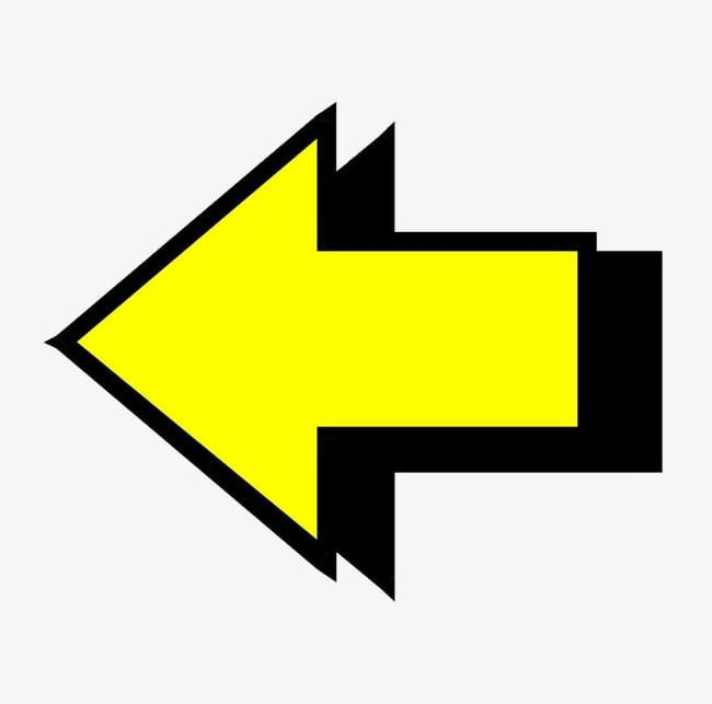 Yellow Arrow PNG, Clipart, Abstract, Arrow, Arrow Clipart.