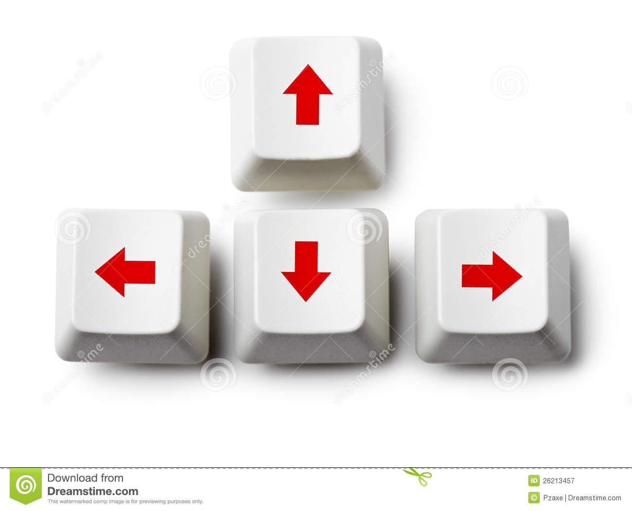 Arrow Keys Clipart.