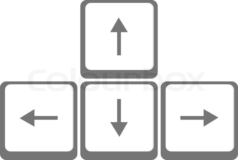 Arrow Keys Icon #317261.
