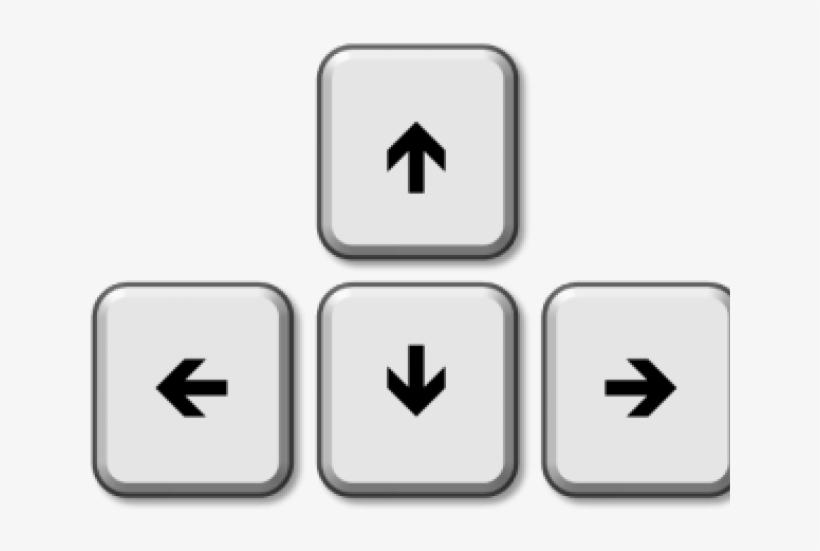Arrow Key Cliparts.