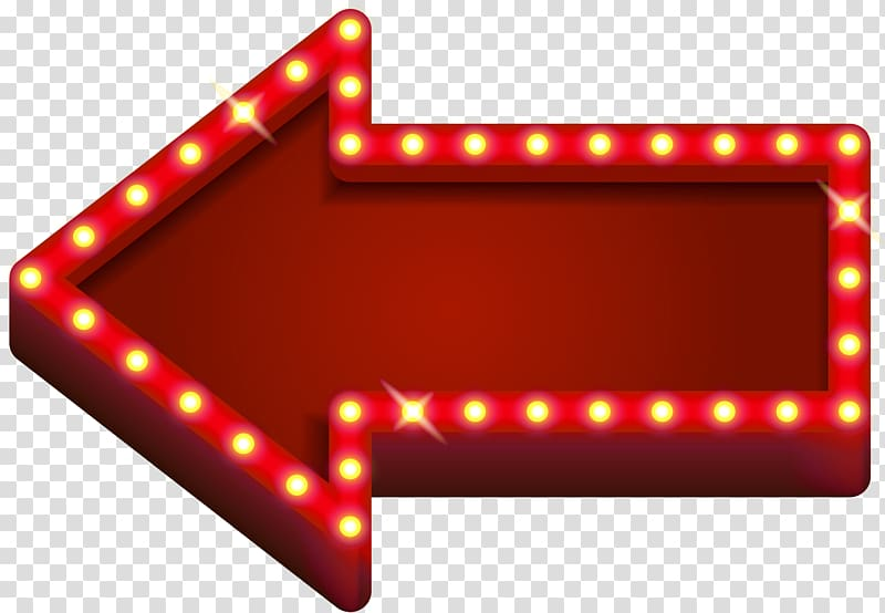 Red arrow signage, Light Neon Arrow , Red Neon Arrow transparent.