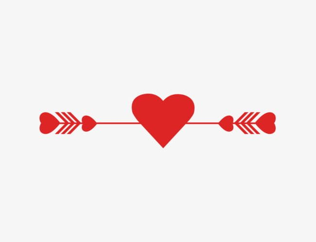 Red Love Arrow Decorative Pattern PNG, Clipart, Arrow, Arrow.