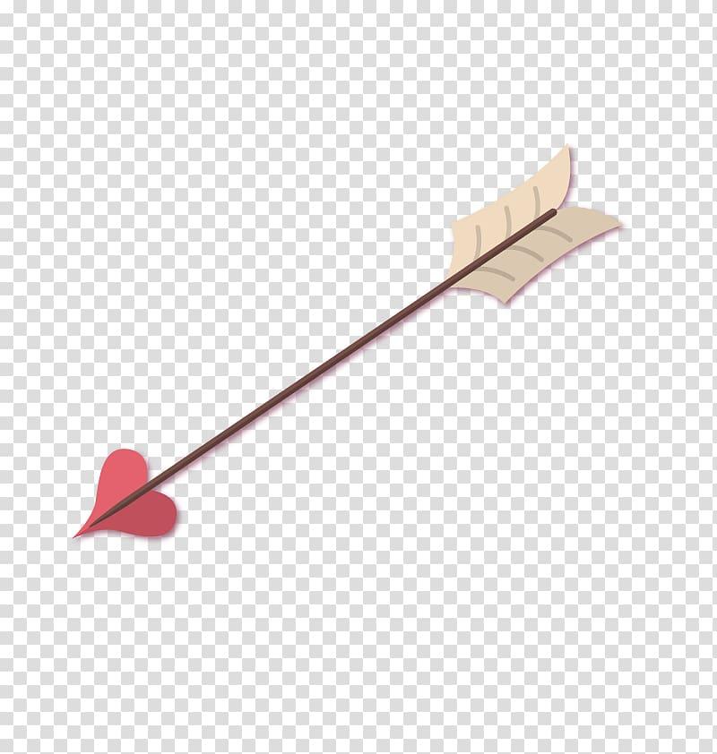 Cupids Archery Arrow, love arrow transparent background PNG.