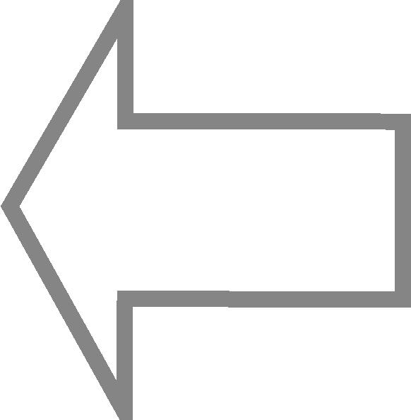 Left Outline Arrow clip art (113724) Free SVG Download / 4 Vector.
