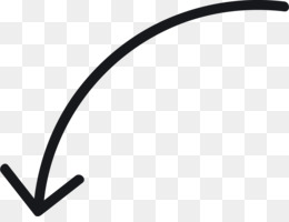 Curved Arrow PNG.