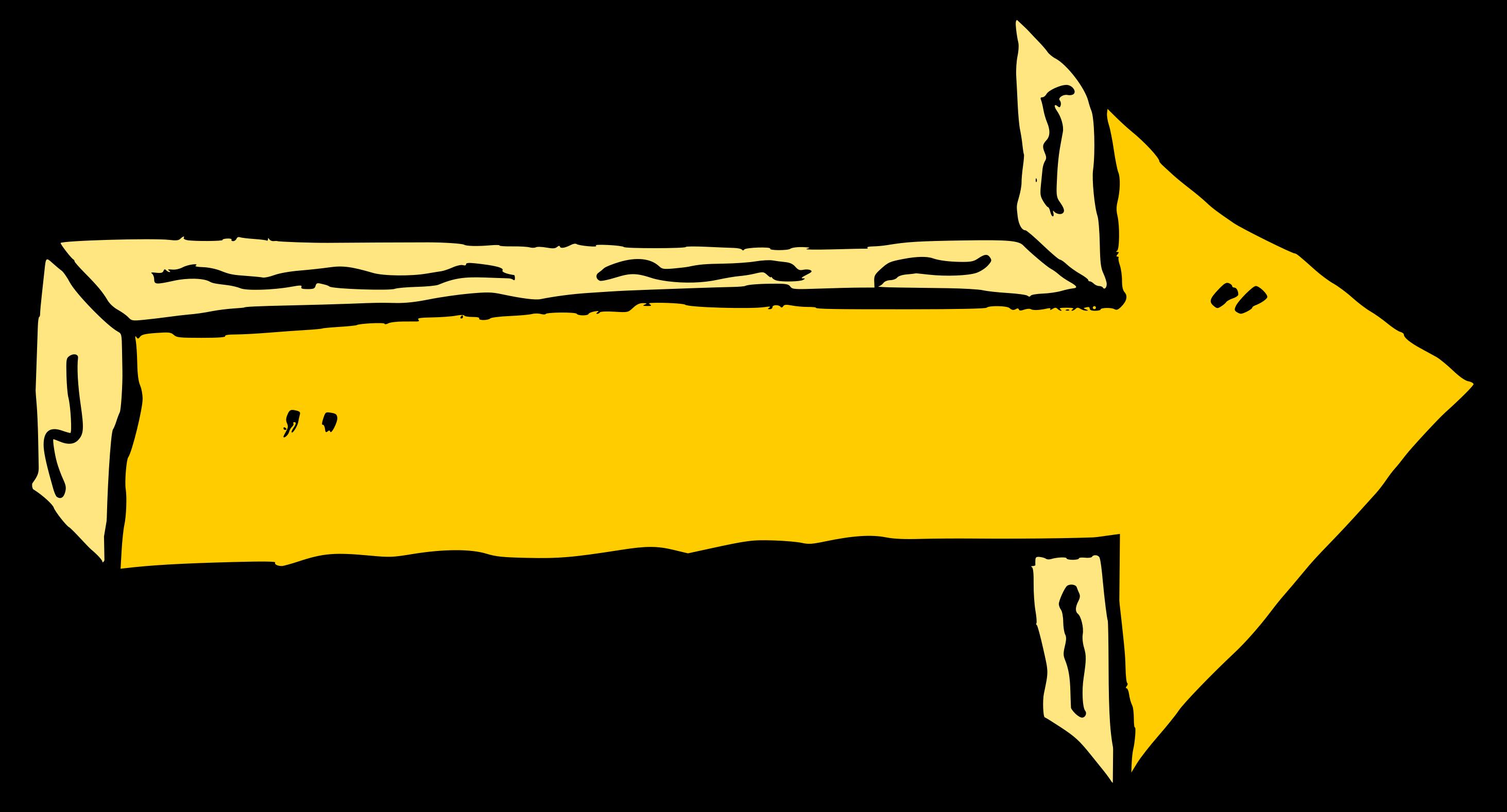 7 Comic Arrow (PNG Transparent).