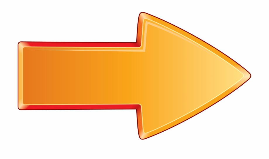Arrow Bold Orange Right.