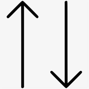 Upside Down Arrow.