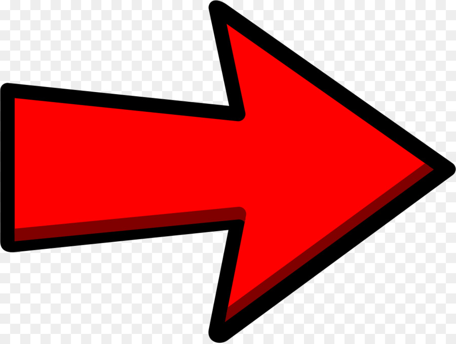 Red Arrow Sign Pointing Right clipart.