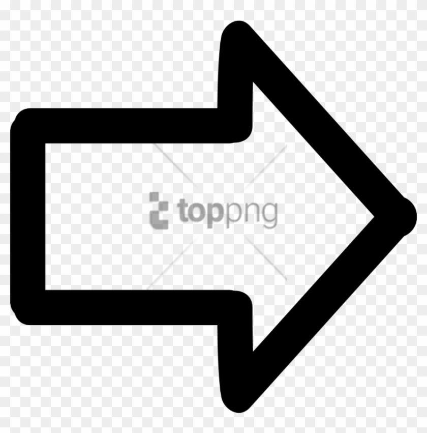 Free Png White Arrow Pointing Right Png Image With.