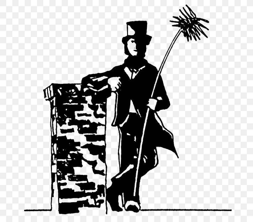 A Traditional Sweep Chimney Sweep Flue Clip Art, PNG.