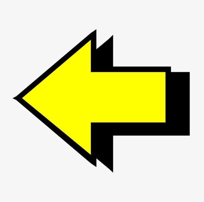 Yellow Arrow PNG, Clipart, Abstract, Arrow, Arrow Clipart, Arrow.