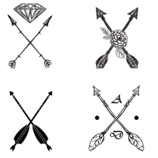 Attractive Arrow Tattoo Designs and Their Symbolism Decoded.