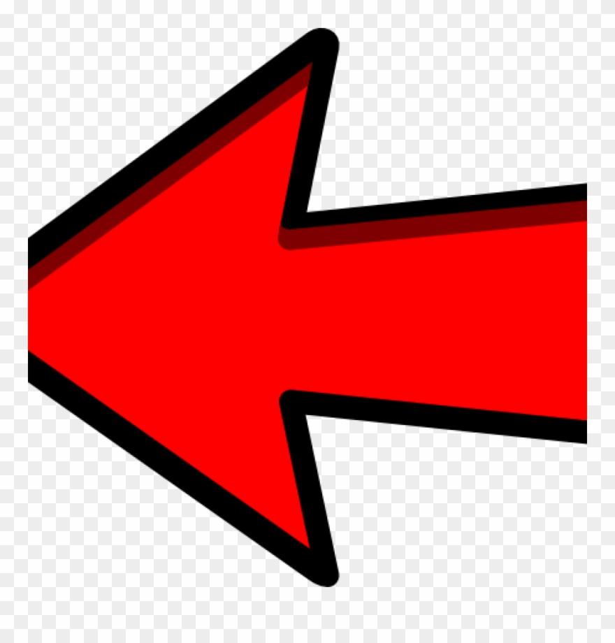 Red Arrow Clipart Left Red Arrow Clip Art At Clker.