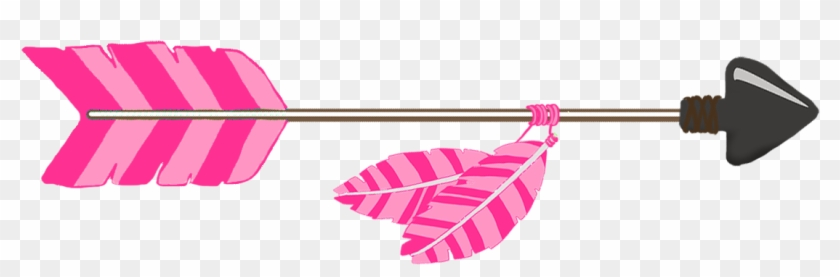 Pink Tribal Arrow.