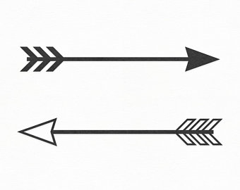 Tribal arrow.