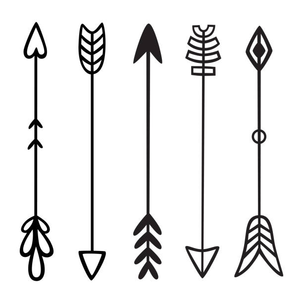Best Bow Arrow Illustrations, Royalty.