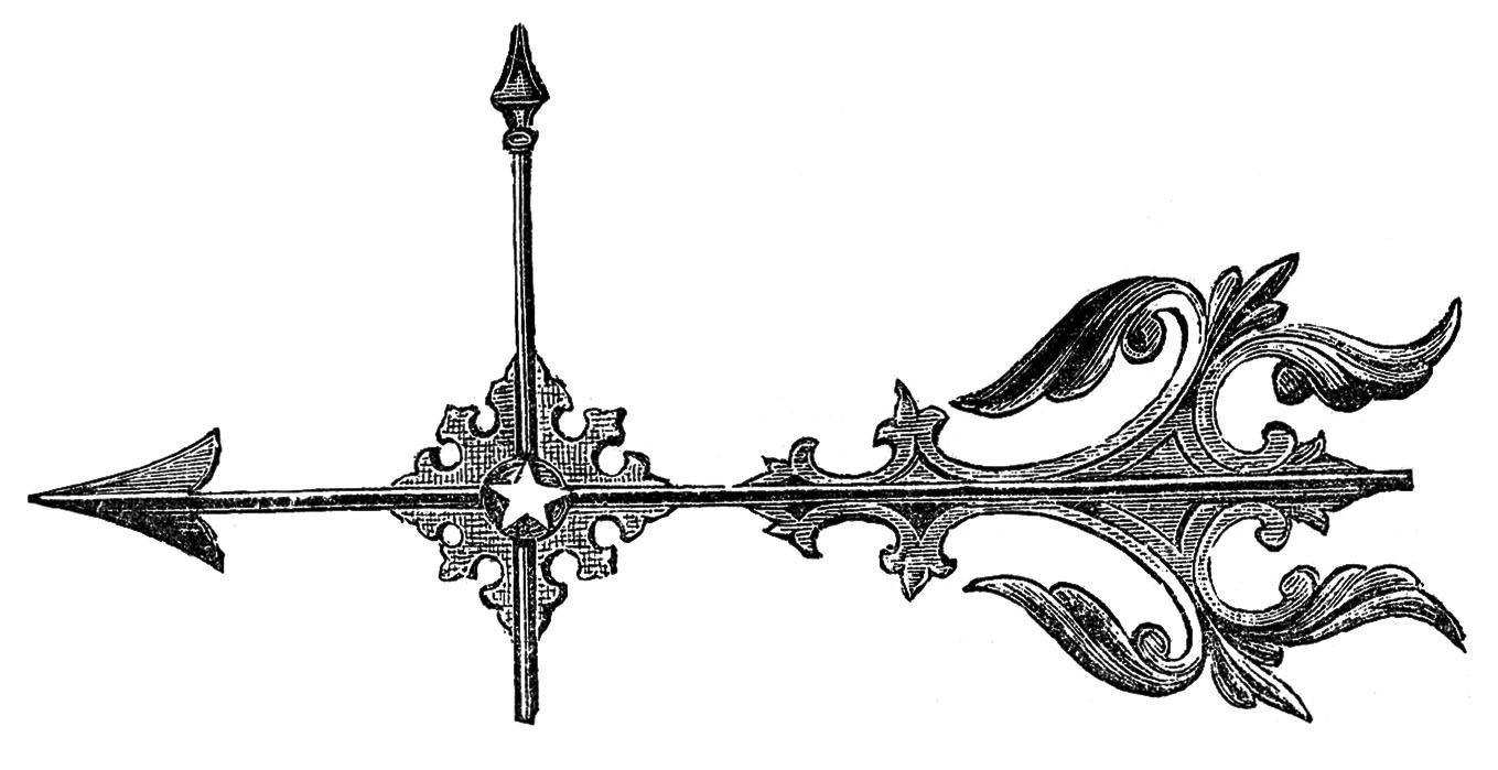 Vintage Arrows Clipart.