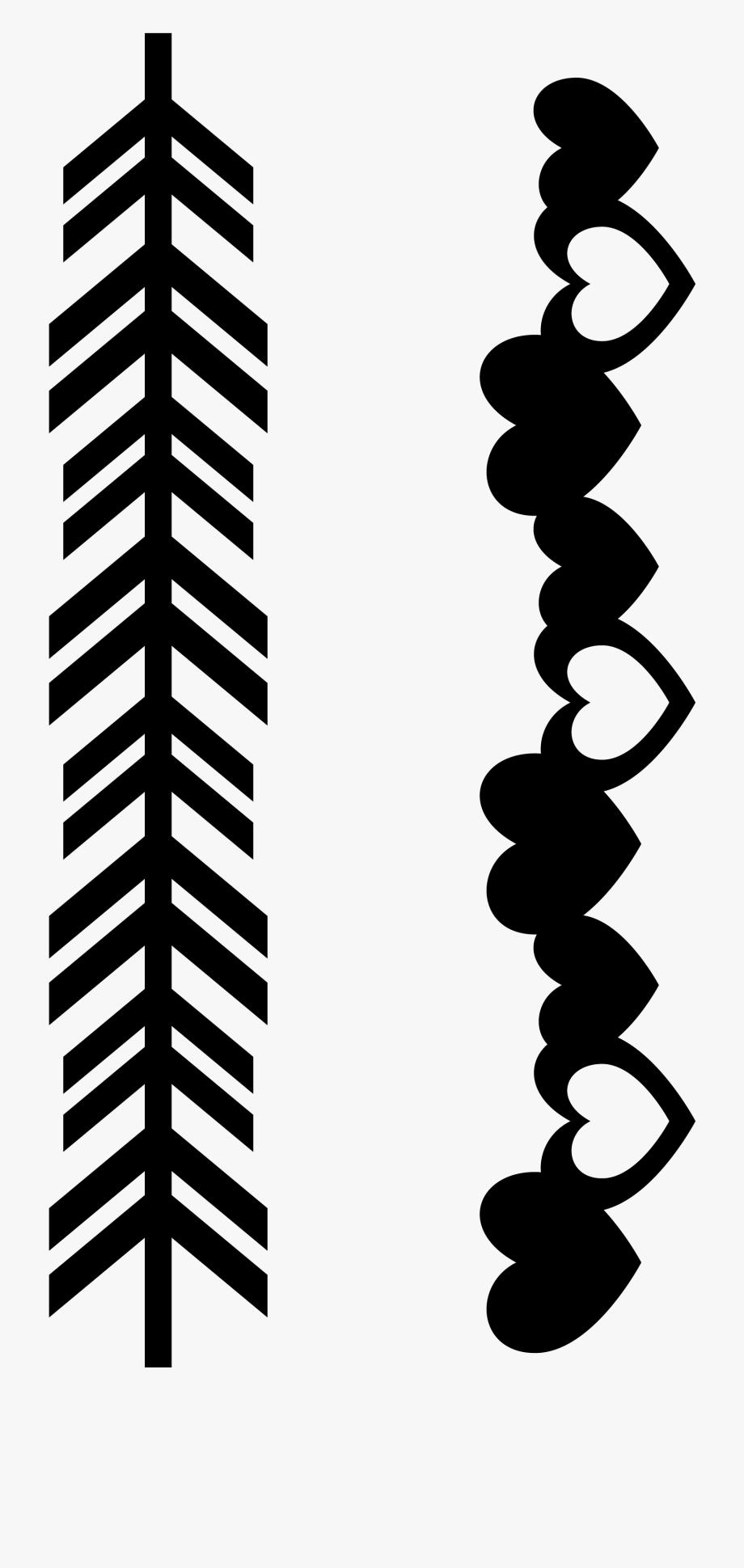 Clip Art Free Arrow Border Clipart.
