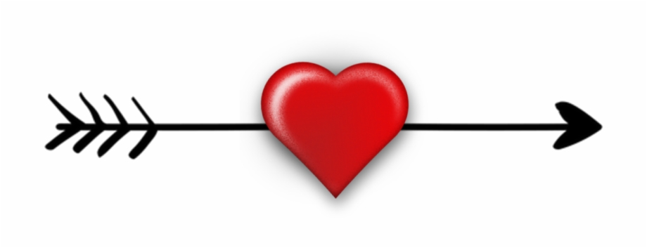 Arrow With Heart Clipart, Transparent Png Download For Free #3912123.