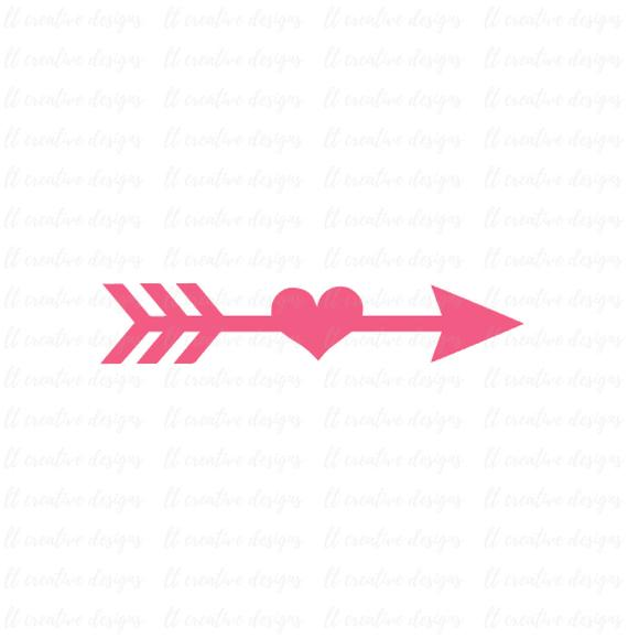 Arrow heart clipart 5 » Clipart Station.