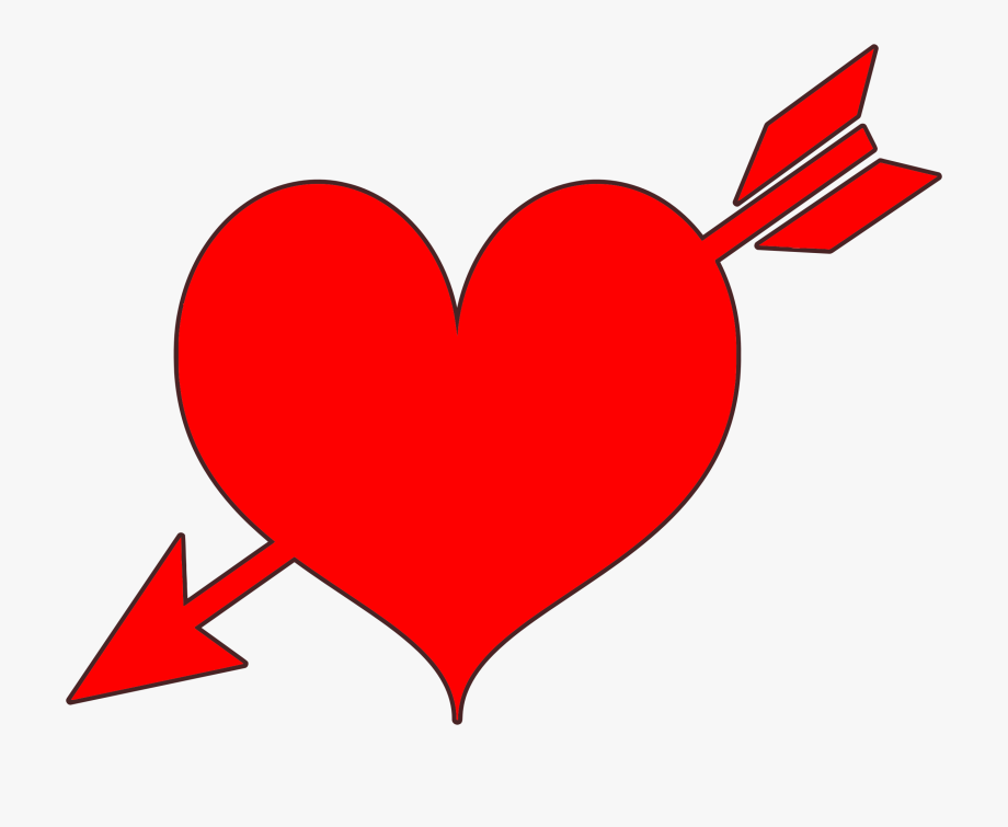 Heart And Arrow Clipart Png For Our Users.