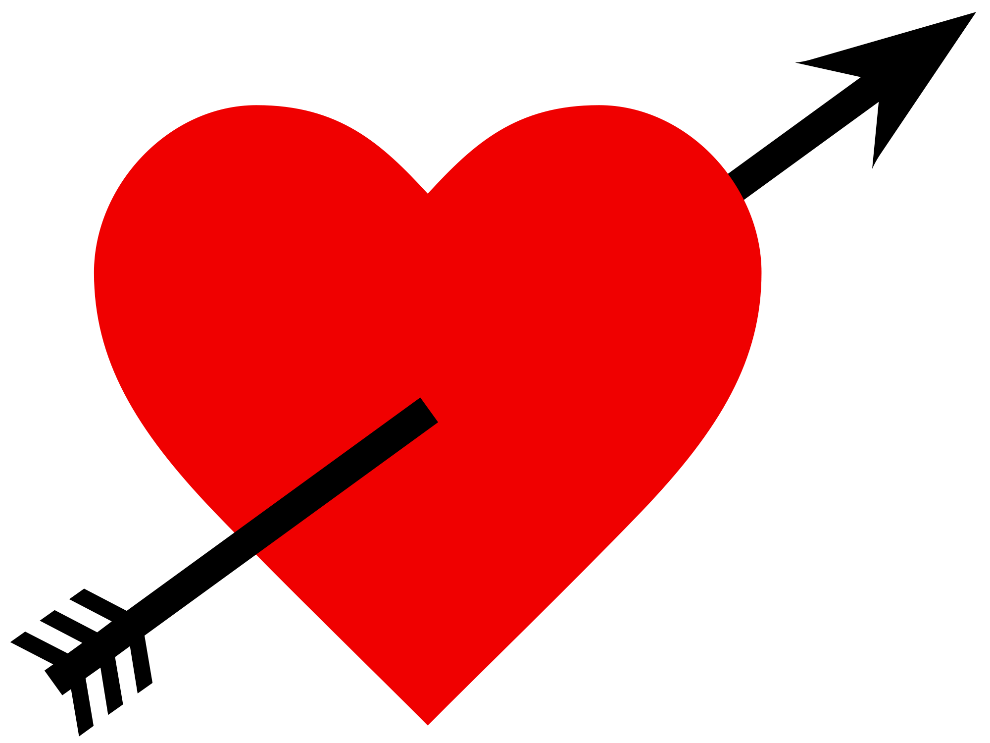 Free Arrow Heart Png, Download Free Clip Art, Free Clip Art.