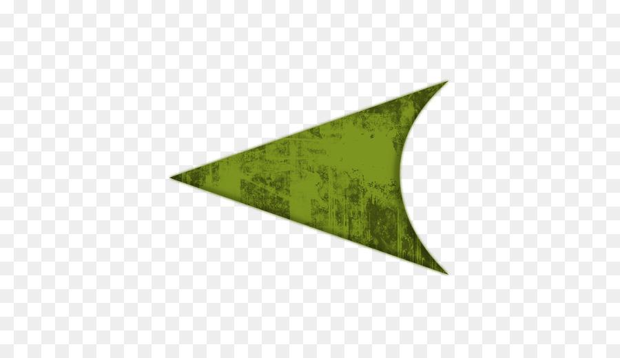 Green Arrow Arrowhead Clip art.