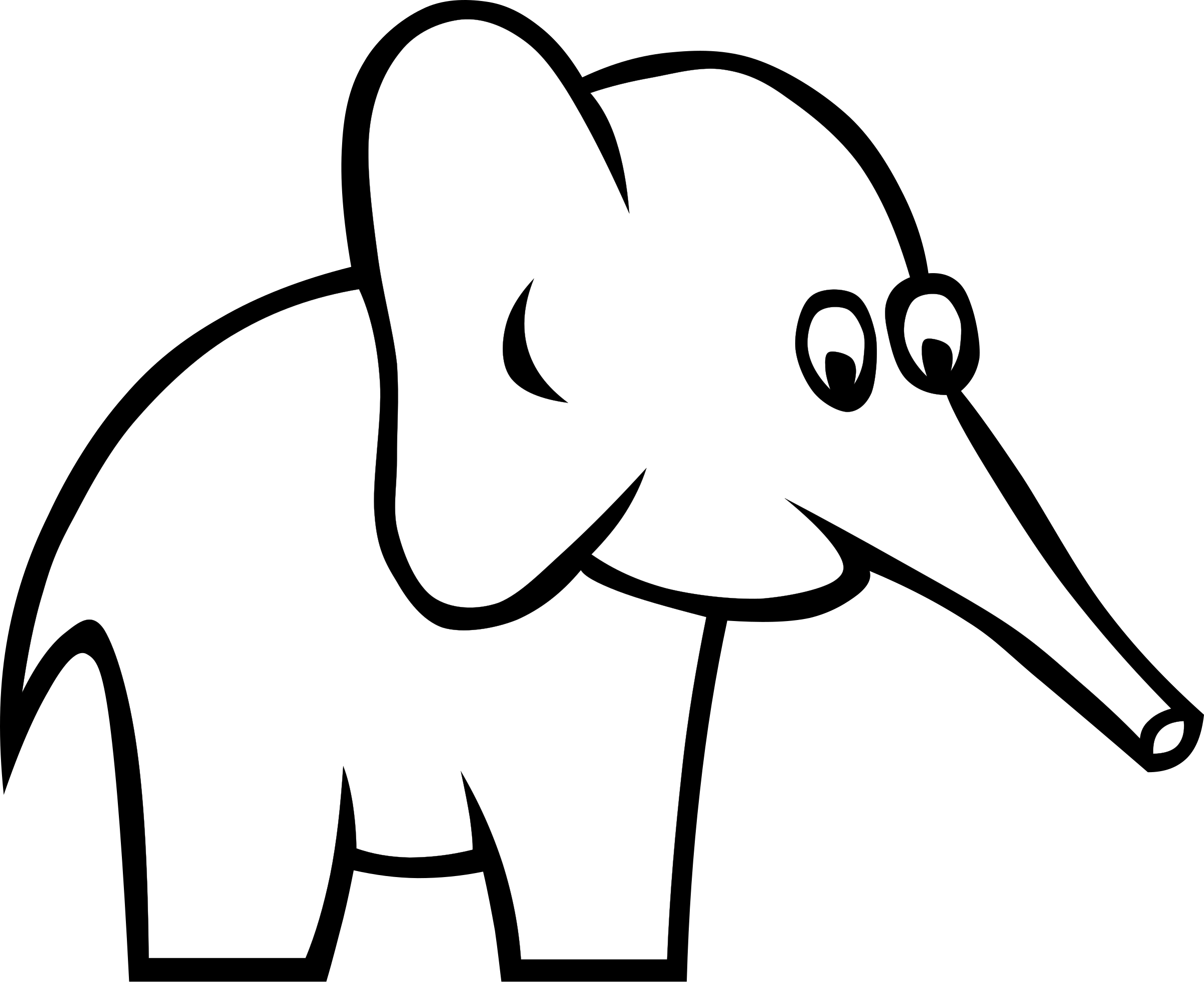 Certain Elephant by @Gerald_G, From wiki commons.The picture.