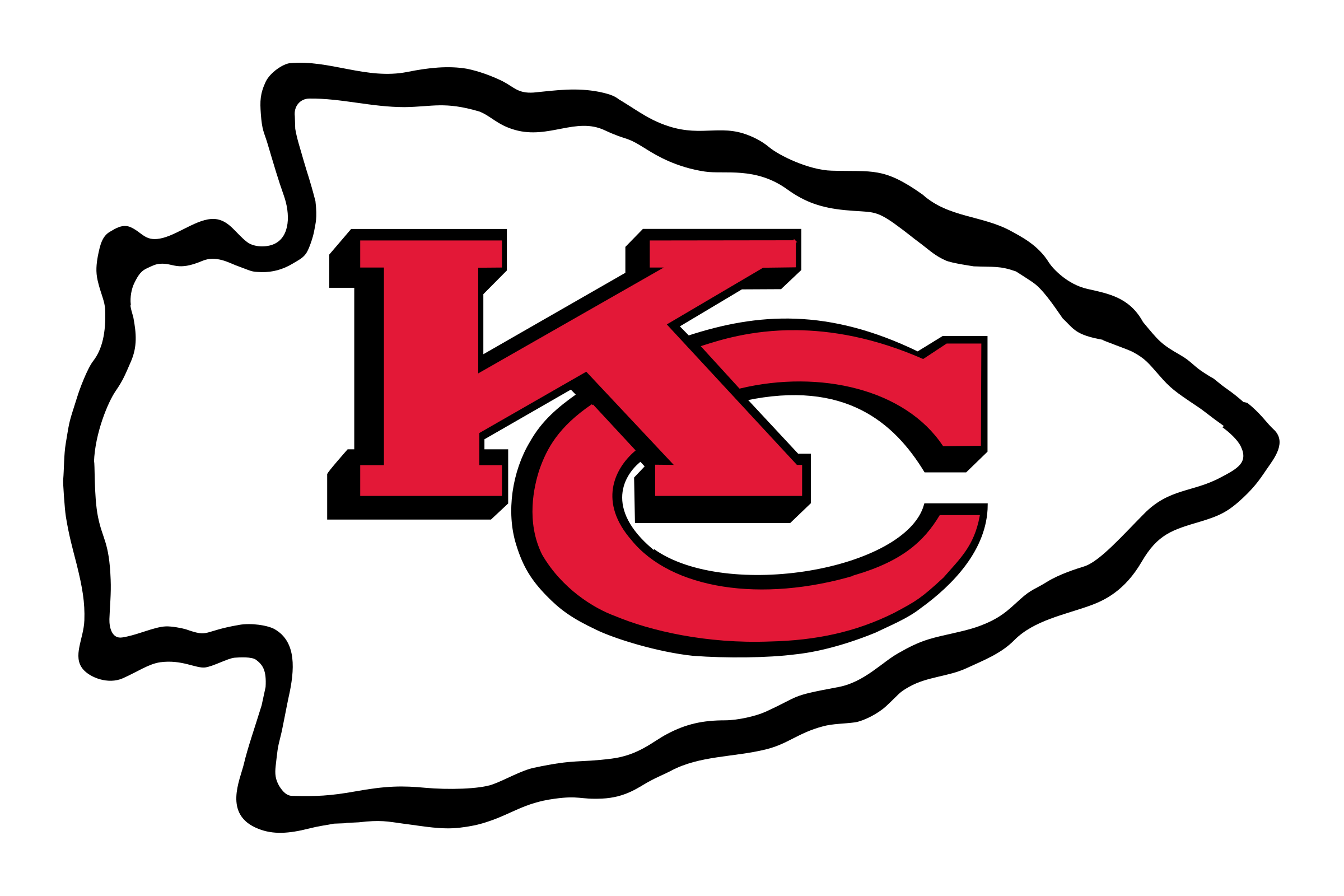 Kansas City Chiefs Logo PNG Transparent & SVG Vector.