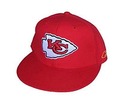 Amazon.com : Kansas City Chiefs Fitted Size 7 1/4 Arrowhead.