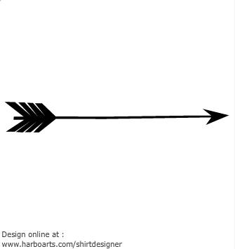 Arrow designs clip art.