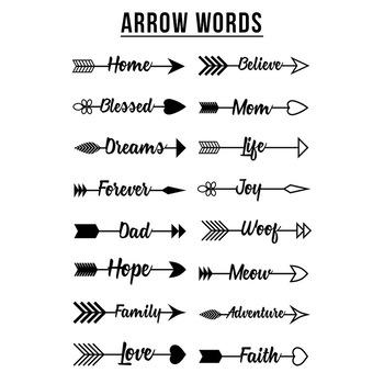 90+ Arrows Clipart Mega Bundle, Tribal Arrow Clipart, Rustic Arrows, Arrow  SVGs.